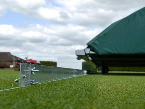 DURANT CRICKET LAUNCH RUN BUND PITCH PROTECTION TO BENEFIT CLUBS & WICKETS