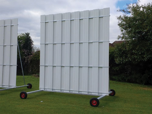 4.5M HIGH X 4M WIDE SIGHT SCREEN Banner