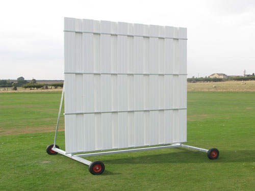 4.5M HIGH X 5.040M WIDE SIGHT SCREEN Banner
