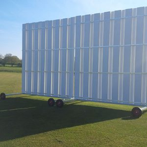 8M SIGH SCREEN (2 X 4.5M HIGH X 4M WIDE)