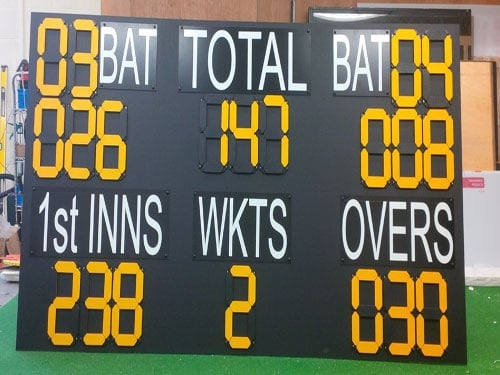 CUSTOM MADE MANUAL SCOREBOARD