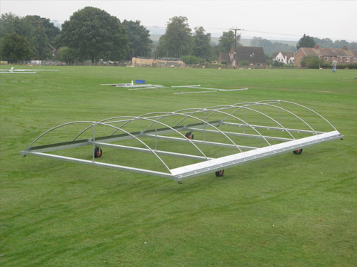 DOME-SHAPED CRICKET COVERS