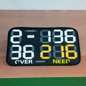 STAND UP CRICKET SCOREBOARD